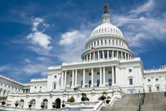 O Capitol Hill Fotografia de Stock