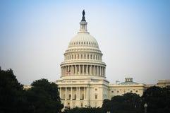 O Capitol Hill Fotos de Stock Royalty Free