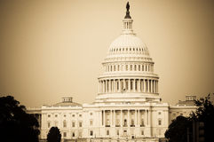 O Capitol Hill Foto de Stock