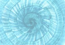 O caracol deu forma ao fundo azul Fuzileiro naval, tema da praia do mar e do cruzeiro ilustração stock