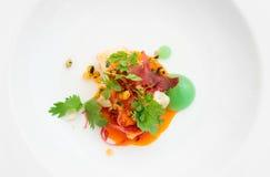 O caranguejo do pimentão cozinhou na maneira moderna Foto de Stock Royalty Free