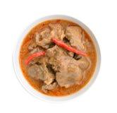O caril de Panaeng é um tipo de caril tailandês Fotografia de Stock Royalty Free