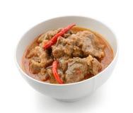 O caril de Panaeng é um tipo de caril tailandês Imagem de Stock Royalty Free