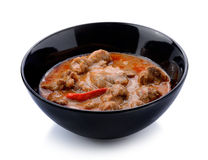O caril de Panaeng é um tipo de caril tailandês Imagens de Stock Royalty Free