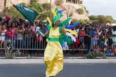 O carnaval anual em Cabo Verde 2011 Fotos de Stock Royalty Free
