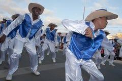 O carnaval anual em Cabo Verde 2011 Foto de Stock Royalty Free