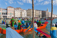 O carnaval anual executou em Veneza, Italy Fotos de Stock Royalty Free