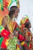 O carnaval anual no capital em Cabo Verde, Praia. Foto de Stock