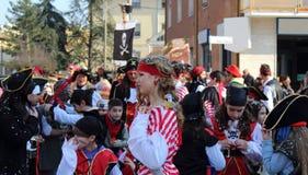 O carnaval das crianças foto de stock