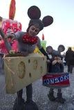 O carnaval de Viareggio Foto de Stock Royalty Free