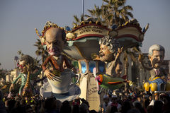 O carnaval de Viareggio Foto de Stock