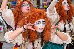 O carnaval 2016 de Viareggio imagem de stock royalty free