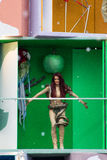 O carnaval 2016 de Viareggio Imagens de Stock Royalty Free
