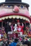 O carnaval 2016 de Viareggio Fotografia de Stock Royalty Free