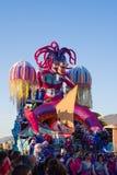 O carnaval de Viareggio, edição 2019 fotos de stock