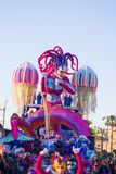 O carnaval de Viareggio, edição 2019 fotos de stock royalty free