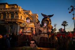 O carnaval de Viareggio, edição 2019 imagem de stock royalty free
