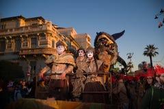 O carnaval de Viareggio, edição 2019 imagens de stock