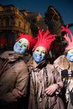 O carnaval de Viareggio, edição 2019 imagem de stock