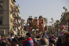 Carnaval de Viareggio imagem de stock