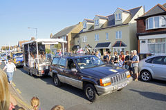 118o carnaval de Whitstable Foto de archivo libre de regalías