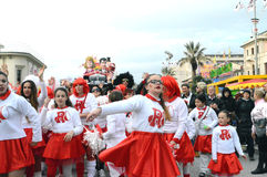 O carnaval mascara a parada fotos de stock