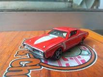 O carregador de 71 Dodge morre molde Hotwheels imagem de stock royalty free