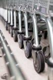 O carrinho de compras Wheels Imagens de Stock Royalty Free