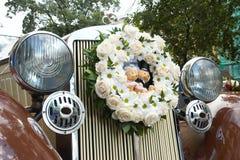 O carro #2 do casamento Fotografia de Stock