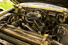 O carro americano velho Imagens de Stock Royalty Free