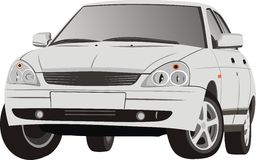 O carro bonito Imagem de Stock Royalty Free