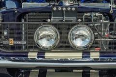 O carro clássico detalha o close up Fotos de Stock