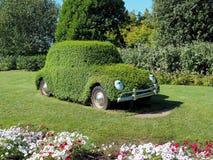 O carro cobriu o parque de diversões de Gardaland da grama Foto de Stock Royalty Free