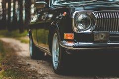 O carro de épocas soviéticas Foto de Stock Royalty Free