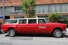 O carro 1967 de Aerobus A12 do verificador produziu pelo Verificador Motores Corporaçõ imagens de stock
