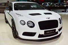O carro de Bentley Continental GT3-R fotografia de stock