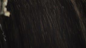 O carro descarrega a violação da grão vídeos de arquivo