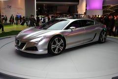 O carro do conceito de Peugeot RC fotos de stock