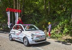 O carro do jornal de L'Equipe Imagens de Stock