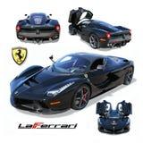 O carro super exótico, LaFerrari- isolou-se imagens de stock royalty free