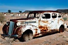 O carro velho Fotografia de Stock