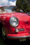 O carro vermelho Fotos de Stock
