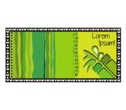 O cartão abstrato colorido pode ser usado para a Páscoa ilustração royalty free