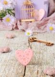 O cartão bonito do Valentim Fotografia de Stock