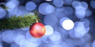 O cartão de Natal Foto de Stock Royalty Free