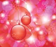 O cartão elogioso de ano novo. fotografia de stock royalty free