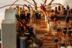 O cartão-matriz com fios de projeção Imagens de Stock
