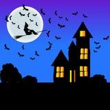 O cartaz para helloween Fotos de Stock Royalty Free