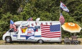 O Carvan do fã Imagem de Stock Royalty Free