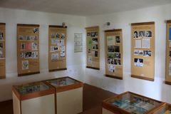 O casa-museu do ek do ¡ do haÅ de Jaroslav em Lipnice nad Sazavou República Checa imagem de stock royalty free
